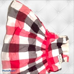 the children's place checkered dress kids